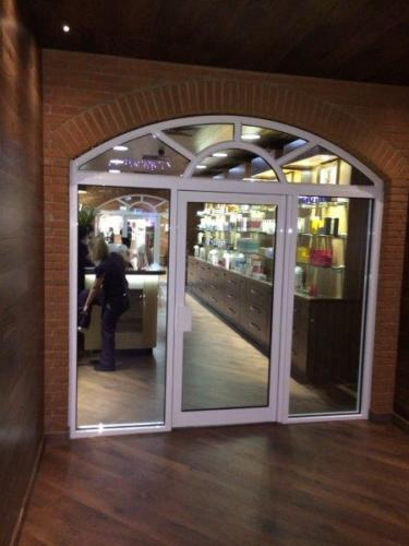 Nirvana Spa doors