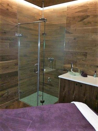 Nirvana Spa room shower