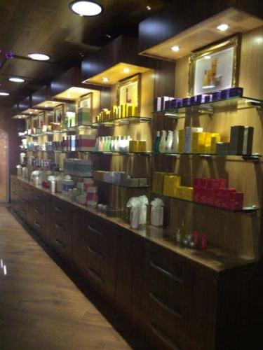 Nirvana Spa shop