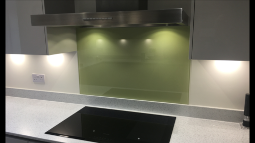 splasback green Allder Group splashback fitting 0118 989 2613